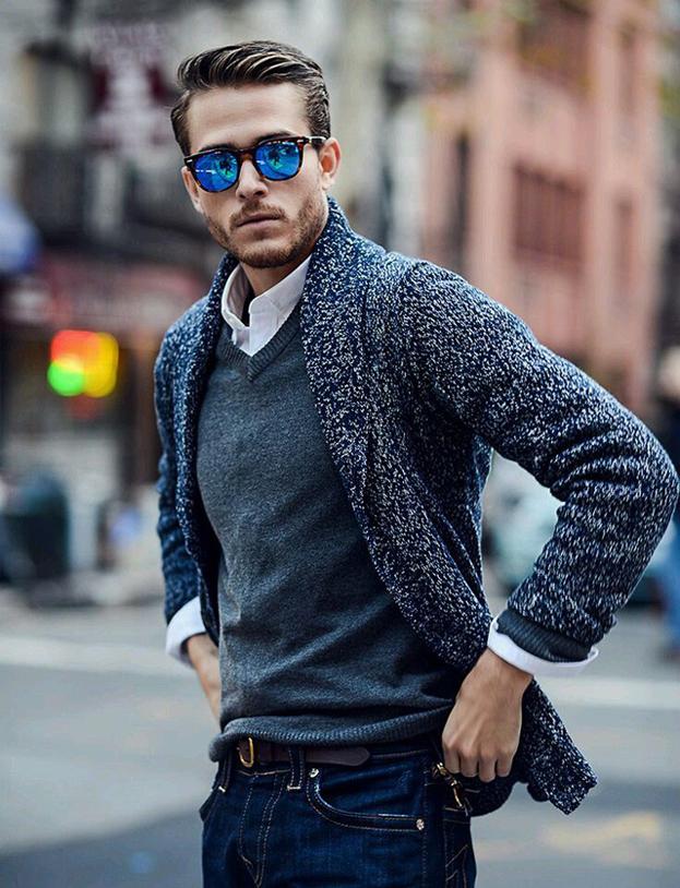 时尚针织外套