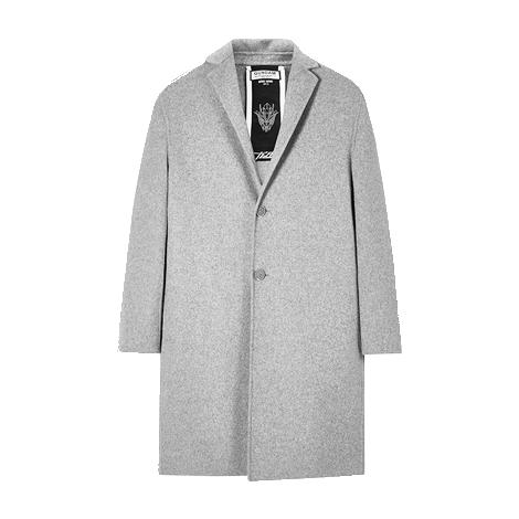 男士2016时尚新款风衣外套秋冬装英伦风西装型毛呢大衣潮